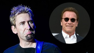 Arnold Schwarzenegger Compares Congress To Nickelback And Herpes, Nickelback Responds With An A+ Comeback