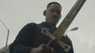 The First Trailer For Will Smith's $90 Million Netflix Cop Movie 'Bright' Is Trippy As Hell