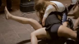 This Vicious Catfight With Titties Poppin' Out Is The Most Beautiful Piece Of Cinematography I've Ever Seen