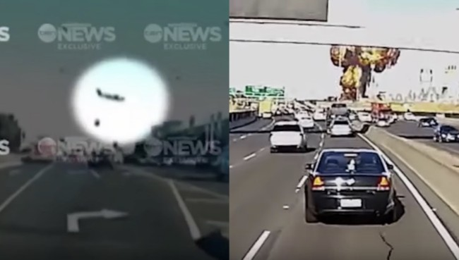 Melbourne Plane Crash Footage
