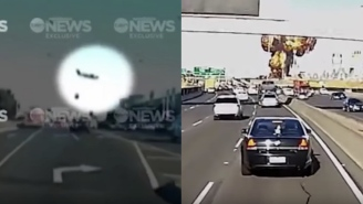 Horrifying Dashcam Footage Shows The Exact Moment A Plane Crashed Into A Mall And Exploded Yesterday