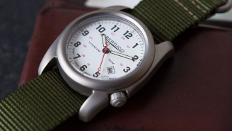 Bertucci's Titanium A-2T Original Classic Is The Ultimate Indestructible Field Watch (Starting At $99)