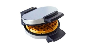 Make Delicious Belgian Waffles Anytime With Black + Decker's Waffle Maker, Under $15 Today