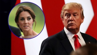 Donald Trump's Tweets About A Topless Kate Middleton Should Make His Visit With The Queen A Tad Awkward