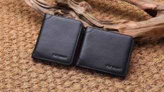 Put This Italian Leather RFID Blocking Wallet In Your Pocket Today For A Mere $16
