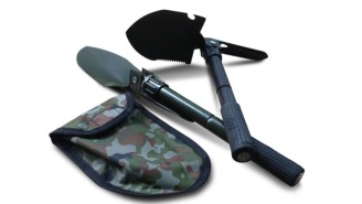 Folding Camping Shovel Multi-Tool Is On Sale For Only $13 Today