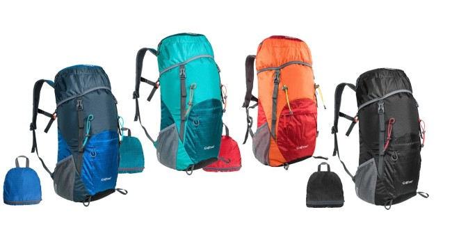 G4Free 40L Water Resistant Travel Backpack