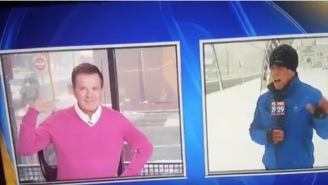 Reporter Drops Cringe-Worthy Gay Joke On Live Television That Was NOT Received Well By His Colleague In The Studio