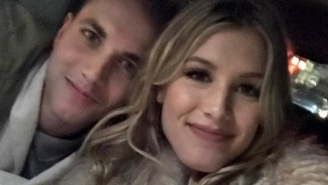 WAIT, WHAT! The Dude Who Scored A Date With Genie Bouchard On Twitter In February Is Now On Her Couch!?!