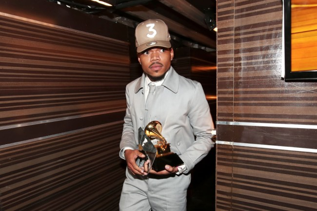 The 59th GRAMMY Awards - Backstage