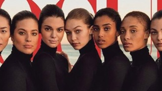 What…The F*ck…Is Going On With Gigi Hadid's Alien-Looking Hand On This 'Vogue' Cover?