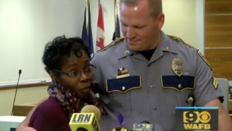 Hero Grandmother Rescues Cop By Attacking Man Who Was Beating Up Police Officer