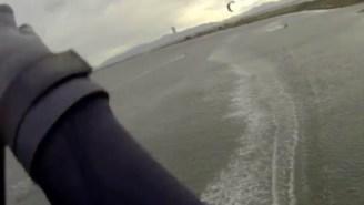 Highest Kiteboarding Jump I've Ever Seen Turns Into The Absolute Gnarliest Crash I've Ever Witnessed