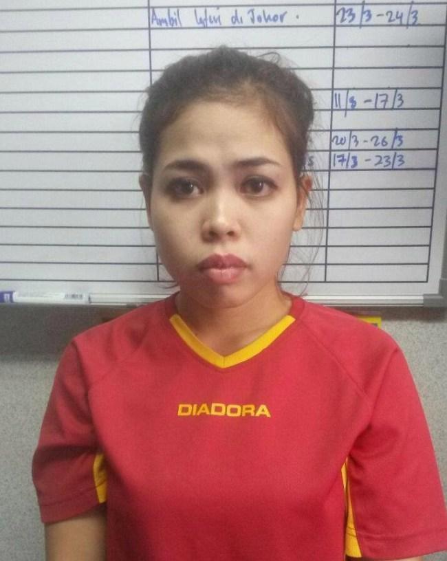 Indonesian suspect Siti Aisyah is a spa masseuse