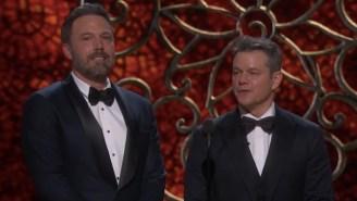 Jimmy Kimmel's 'Matt Damon Tribute' At The Oscars Was A Perfect Roast Of Matt Damon