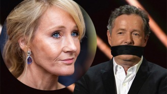 J.K. Rowling Ethered Piers Morgan On Twitter Then Morgan's Son Went And Made It Super Awkward