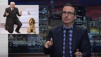 John Oliver Spent 20 Minutes Making Fun Of Vladimir Putin (And Donald Trump) On 'Last Week Tonight'