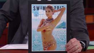 Kate Upton Tried To Explain Why Her SI Swimsuit Covers Didn't Contain Any Actual Swimsuits