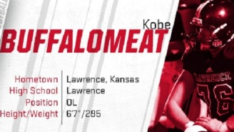 The Internet Reacts To Illinois State Recruit Kobe Buffalomeat's Ridiculously Awesome Name