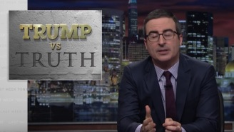 John Oliver Spit-Roasted Donald In 'Trump Vs Truth' On The Season 4 Premiere Of 'Last Week Tonight'