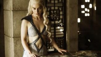 Brad Pitt Bid $120,000 To Watch An Episode Of 'Game Of Thrones' With Emilia Clarke
