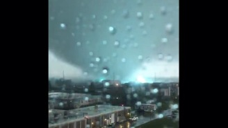 Massive Supercell Tornadoes Just Plowed Through New Orleans And Footage/Pics Of This Storm Are INTENSE