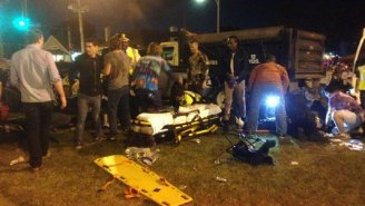 Over 20 Hurt And 12 In Critical Condition After Truck Plows Into Crowd At Mardi Gras Parade In New Orleans