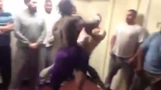 Prison Fight Club Video Leaks Showing Inmate Getting Knocked Out