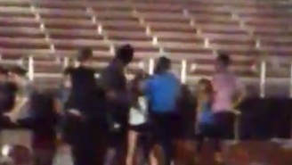 RG3 Had To Be Restrained From Fighting Man While Running With His GF At FSU Track