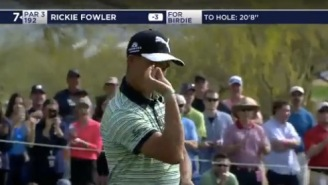 Rickie Fowler Just Pulled Out The #SaltBae Celebration After Draining A 20-Foot Putt