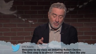 This Special Robert De Niro Edition Of 'Celebrities Reading Mean Tweets' Is CLASSIC De Niro