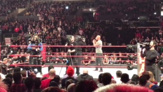 'The Rock' Gives Zero F*cks, Calls CM Punk While Standing In The Ring After 'RAW' Went Off The Air