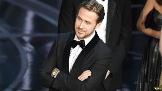 Ryan Gosling's Reaction To The Best Picture Debacle While Standing On Stage Was Absolutely A+