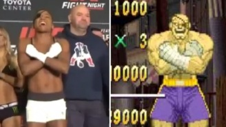 Female UFC Fighter Angela Hill Shows Up At Weigh-Ins Wearing Awesome Street Fighter Themed Costume