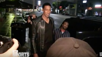 Scottie Pippen Wanted To Murder This Reporter Who Asked Him 'Where's Future?' While On A Date With His Wife
