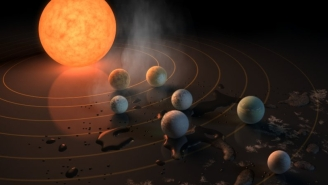 Hell Yeah! NASA Just Discovered A New Solar System With SEVEN Earth-Sized Planets, SOOOOOOO ALIENS?!