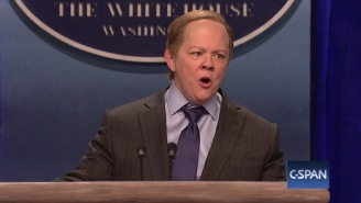 Sean Spicer Responded To Melissa McCarthy's Hysterical Imitation Of Him On 'Saturday Night Live'