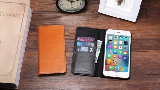 Shieldon's Premium Leather iPhone Cases Double As A Wallet, And They're 55% OFF Right Now