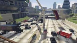 I Can't Stop Laughing At This Windmill Causing Absolute Pandemonium In 'GTA V'