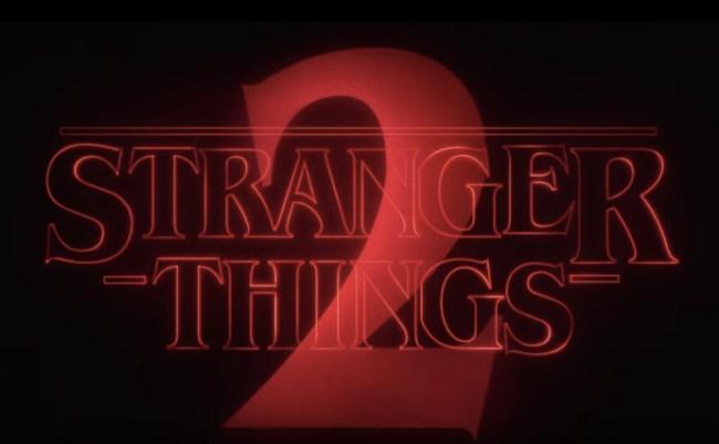 Stranger Things 2 Trailer Release Date Plot Details