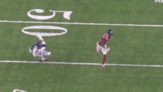 Falcons WR Taylor Gabriel Absolutely Destroys Malcolm Butler's Ankles In The Super Bowl
