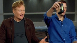 Watch A Cocky Tom Brady Murder Conan O'Brien In 'For Honor' On This Year's Super Bowl Edition Of Clueless Gamer
