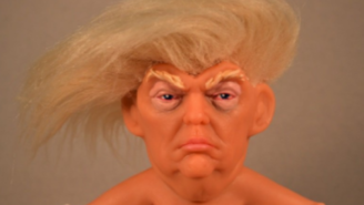 Someone Made A Donald Trump Troll That Looks Just Like Our 45th President And You Can Buy It!