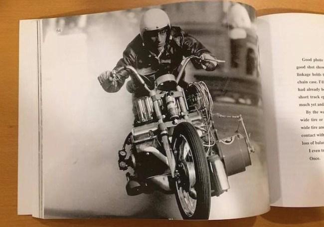 1971 EJ Potter Chevy V8 'Widowmaker 7' Drag Bike