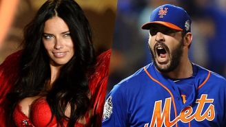 Matt Harvey's Carousel Of Model Hookups Spins On As He's Caught Making Out With Adriana Lima