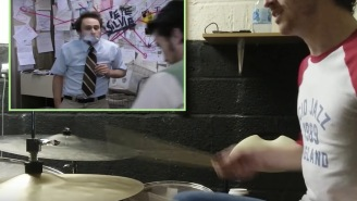 'Always Sunny's Infamous 'Pepe Silvia' Scene Played With Drums Somehow Makes It Even Better