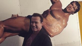Arnold Schwarzenegger Says 'Hasta La Vista' To Internet Trolls