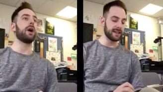 Teacher Of The Year Gives Students Hilarious Fake Words Spelling Test As An April Fools Prank