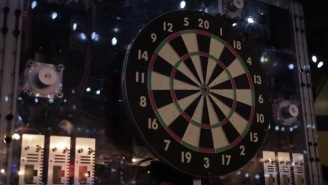 Ex-NASA Engineer Builds Automatic Dartboard That's PERFECT For Drunk People