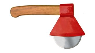 Slice Your Next Pie Patrick Bateman-Style With This Awesome Ax Pizza Cutter